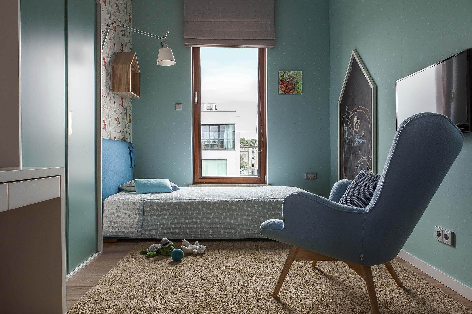 Niebieski Pokój Dziecka