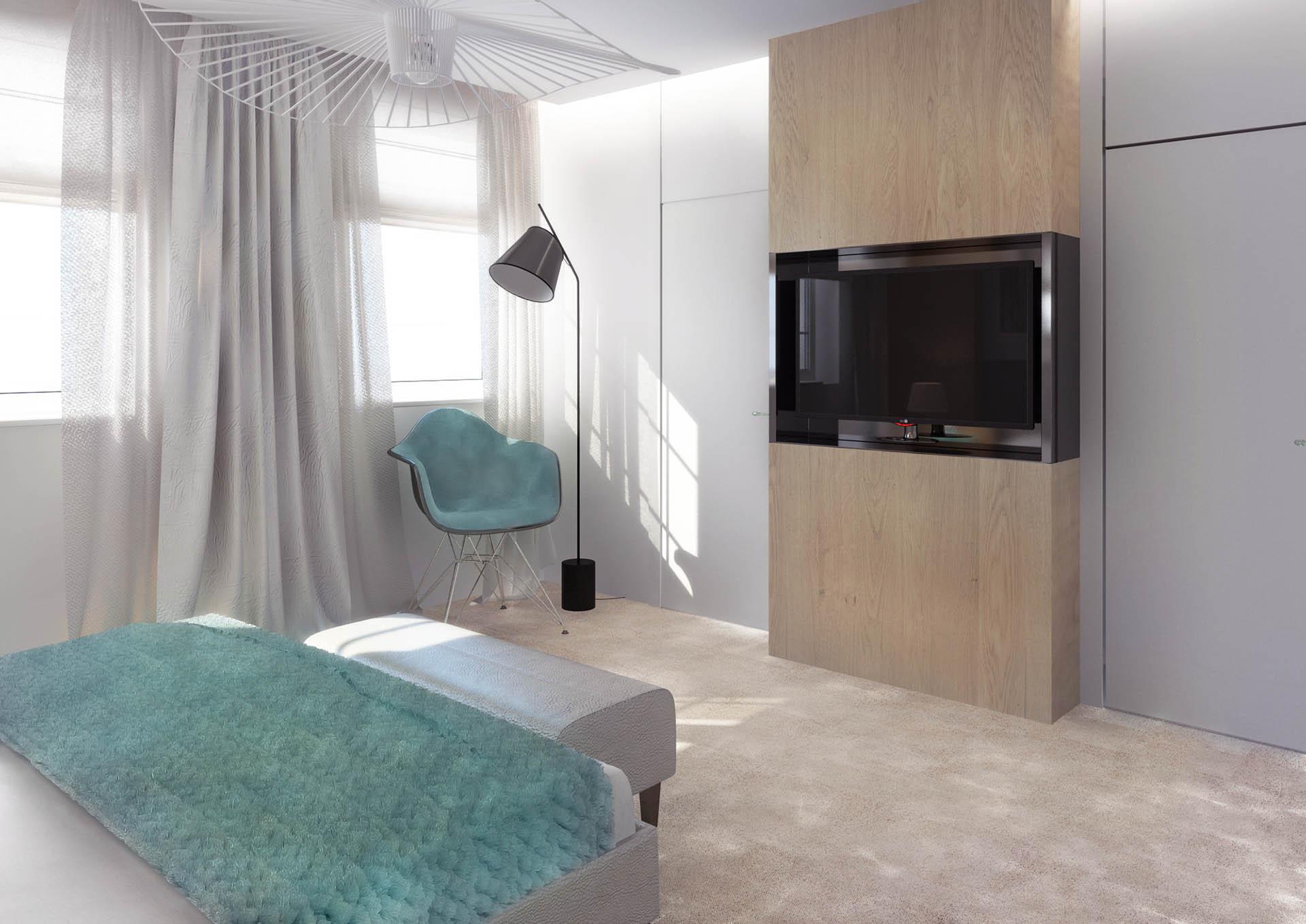 Sypialnia Aquamaryna