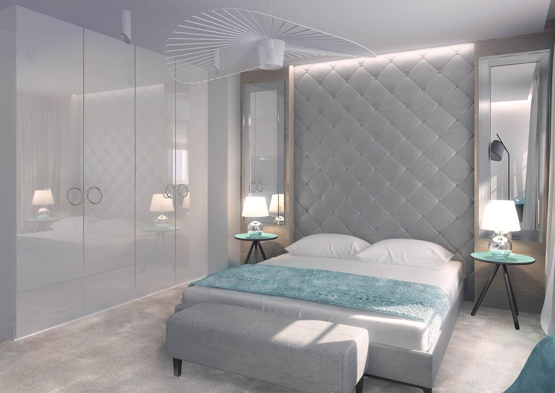 Sypialnia Biała Aquamaryna